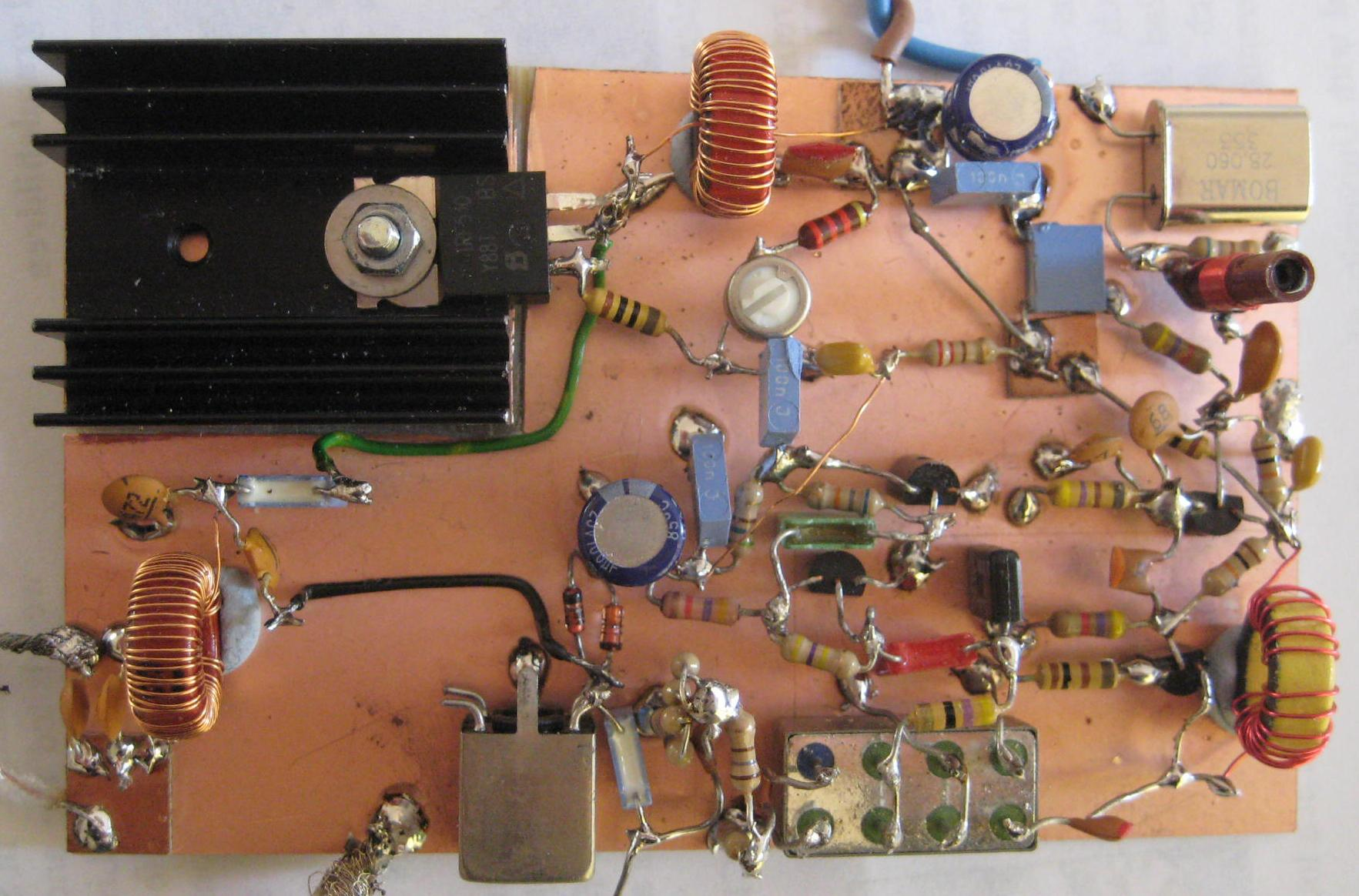 500KHz Transverter board